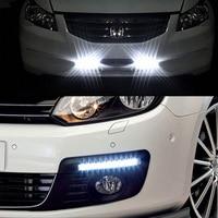 Auto Generale di Alto Potere Luminoso Eccellente Led Daytime Daylight Set Daytime Running Light Impermeabile Lampada Esterna