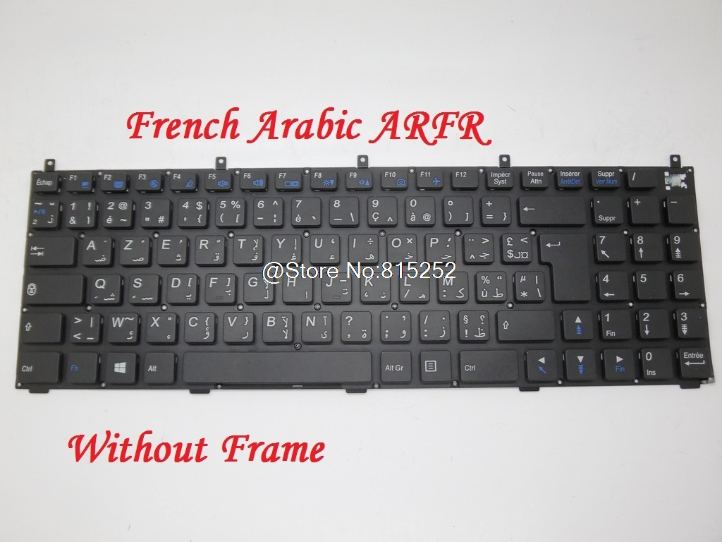 Laptop Keyboard For CLEVO M740T M740JU M740SU M741SU M741TUN M745K M745TG M746JU M748K M760S M761JU M762SU M765CU M766T M767TU laptop keyboard for clevo m550 black without frame with trackpoint u s english international ui mp 030834u 4309l