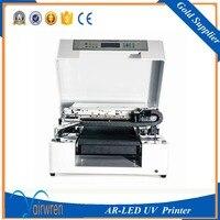 High Quality Digital Uv Glass Bottle Printing Machine For Sale AR LED Mini4
