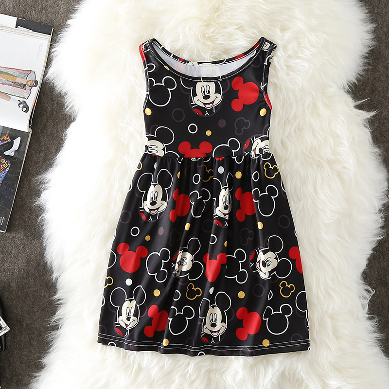 21711d5e6e38b Newest Fashion Cute Kids Baby Girls Minnie Mouse Party Dress Causal ...