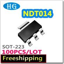 Smd NDT014 100 pcs 1000 PCS 60 V 2.7A sot223 N channel pdf allinterno mosfet elettronico componenti elettronici di qualità