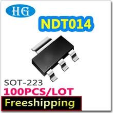 Smd NDT014 100 pcs 1000 PCS 60 V 2.7A sot223 N channel pdf binnen mosfet elektronische elektronische componenten kwaliteit