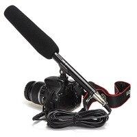 Entretien professionnel Studio Micro À Condensateur Microphone Conférence Stéréo pour DSLR SLR Caméra Caméscope Vidéo pour DC DV