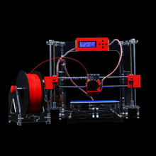 Acrylic Frame LCD Screen Acquired Reprap Prusa i3 desktop 3D Printer Machine High Precision impressora DIY Kit