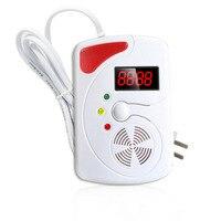 Smart LED Digital Display Voice Gas Detector Gas Alarm System LPG Household Leakage Detector Sensor Detect