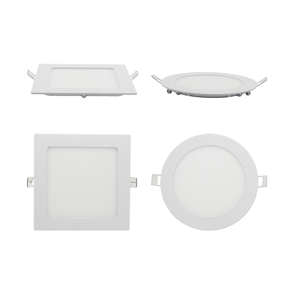 <font><b>LED</b></font> Downlight Square Round Lamp 3W 6W 9W 12W 15W <font><b>18W</b></font> Dimmable Ceiling Recessed Bulb AC 85-265V SMD <font><b>2835</b></font> Panel Light With Driver image