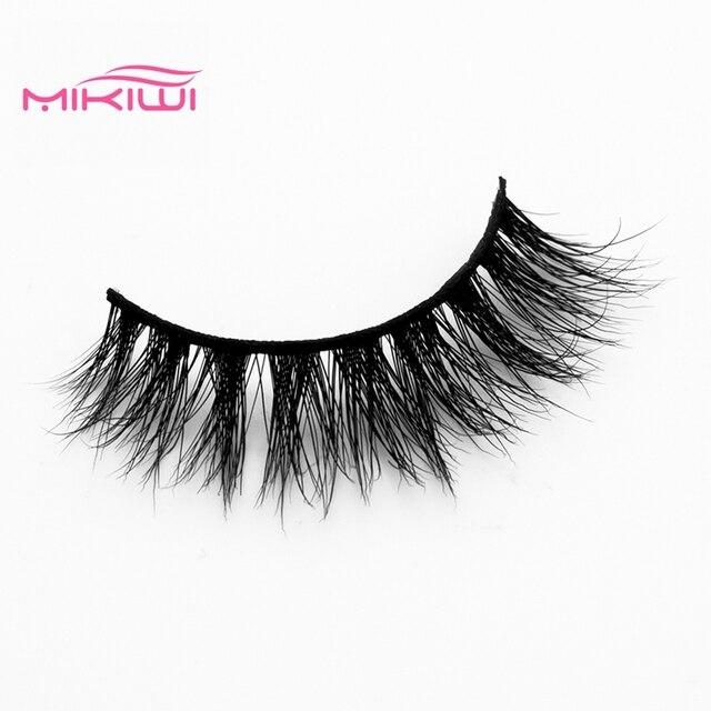 48e2b93eecb MIKIWI 3d mink lashes A14 CHEAP handmade 3D Mink handmade factory wholesale  full strip Cruelty Free false eyelashes