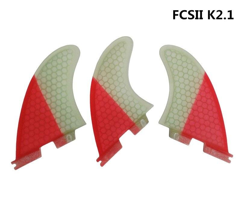 FCS2 K2.1 Surf Fin FCS ii Blue Surfboard Fins FCSII Fibreglass Fin Tri Fin for Surfing Sport комплект кухонный balvi blue fin цвет зеленый 2 предмета