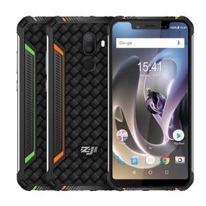 "Image 5 - HOMTOM ZOJI Z33 SmartPhone IP68 wodoodporny MT6739 1.3GHZ 3GB 32GB 4600mAh 5.85 ""Dual sim Android 8.1 OTA OTG face id telefony komórkowe"
