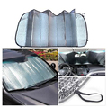Foldable Car Auto Front Rear Windshield Sunshade Sun Shade