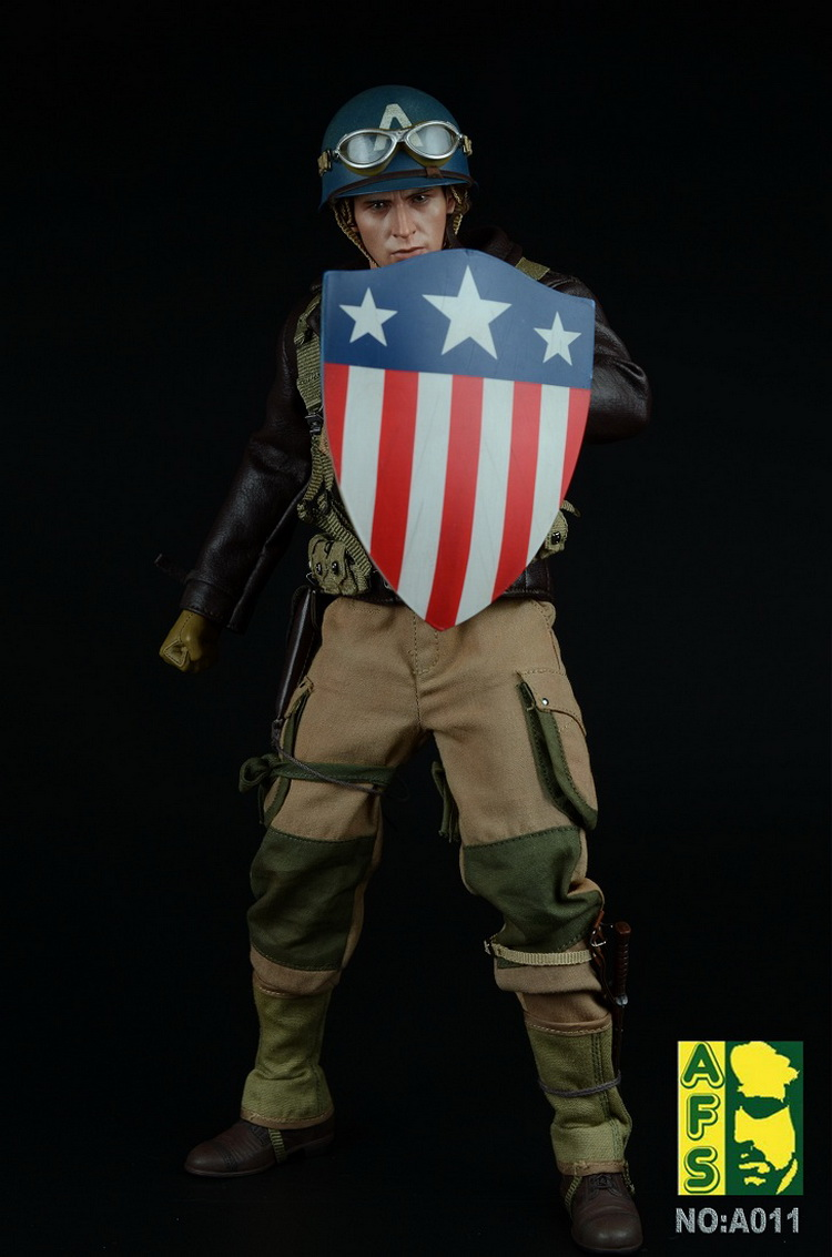 1/6th scale figure doll Captain America Steven Steve Rogers Chris Evans 12 Action figure doll Collectible model toy No box the avengers civil war captain america shield 1 1 1 1 cosplay captain america steve rogers abs model adult shield replica