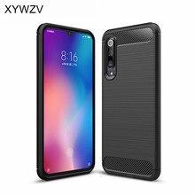 For Xiaomi Mi 9 SE Case Luxury Armor Rubber Soft Silicone Phone Back Cover Mi9