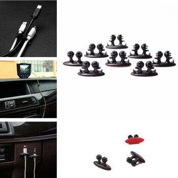 Clip de cargador de coche multifunción universal de 8 Uds. Para Land Rover LR4 LR3 LR2 Range Rover Evoque Defender discotecas