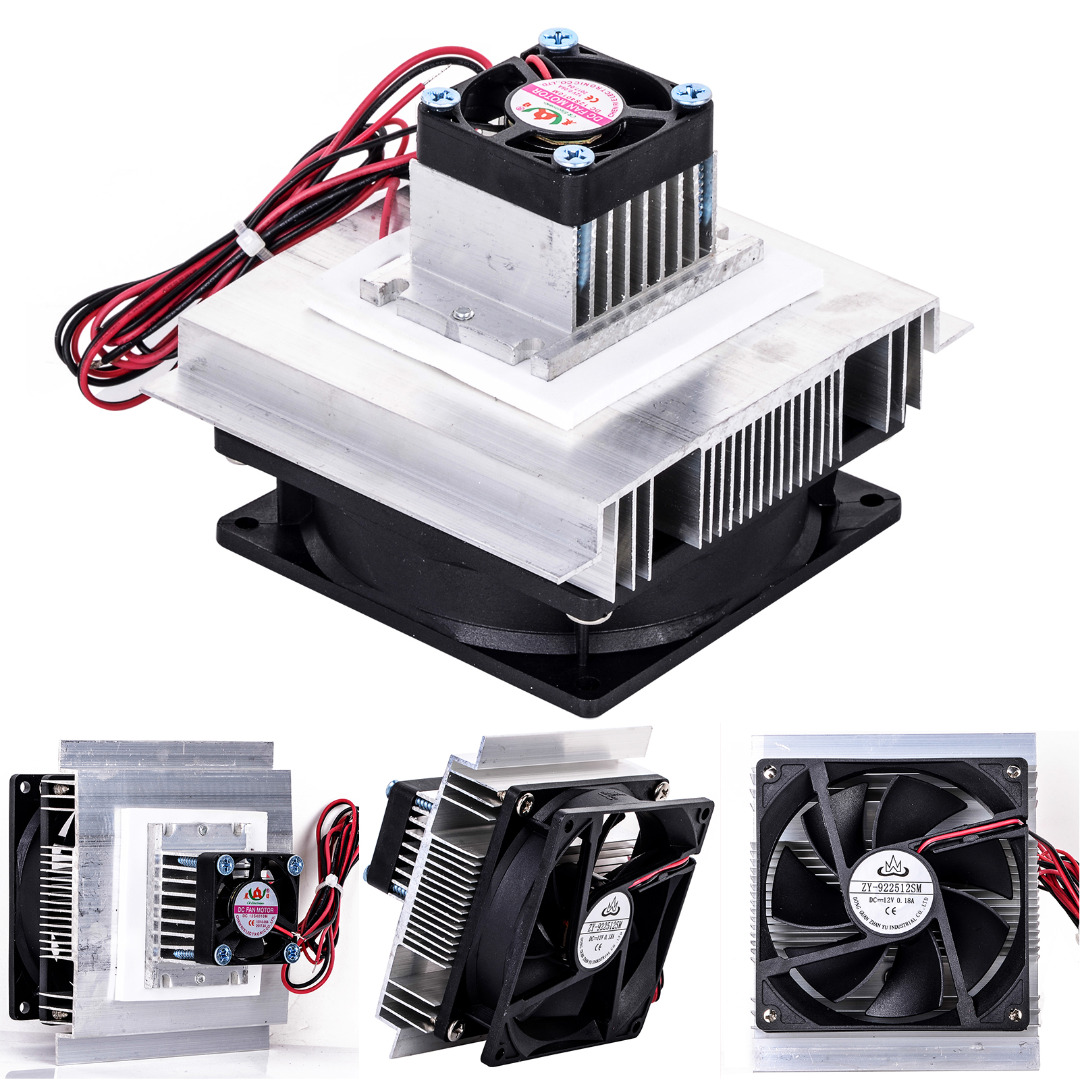 1pc Thermoelectric Refrigeration Cooling System Kit Semiconductor Cooler Fan TEC-12706 Mayitr DIY Tools kitavawd31eccox70427 value kit avanti tabletop thermoelectric water cooler avawd31ec and glad forceflex tall kitchen drawstring bags cox70427