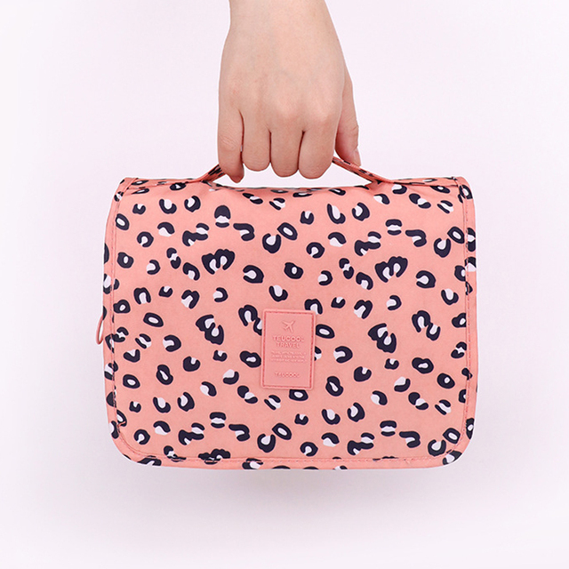 New Packing Cubes Waterproof Travel Large Capacity Storage Bag Portable Hook Wash Cosmetic Bag Fashion Travel Accessories