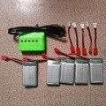 850 мАч 3.7 В Липо Батареи + ЗАРЯДНОЕ Устройство для SYMA X5hw x5hc RC Drone Мультикоптер Комплект Запасных Частей
