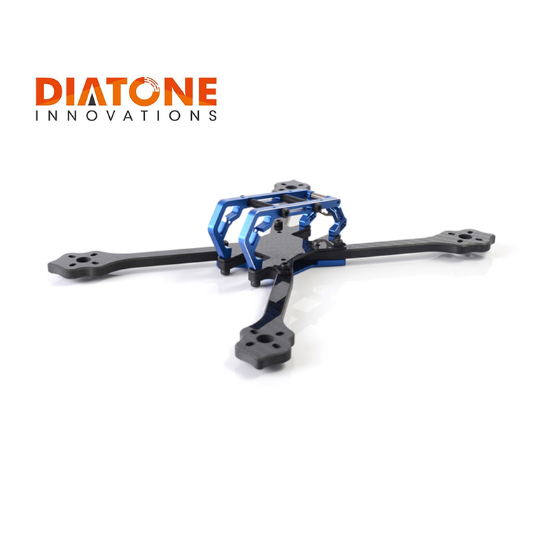Diatone 2018 GT-M200 230mm Stretch X Frame Kit carbon fiber aluminiu Alloy 2 Colors for 5 Inch Prop for RC Racer Racing Drone стоимость