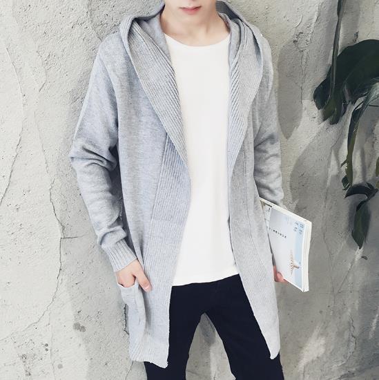 Горячее предложение Модные Повседневное Для мужчин длинный свитер мужской Свитеры для женщин пальто вязать Куртка-кардиган прилив тонкий свитер теплый Пыльник