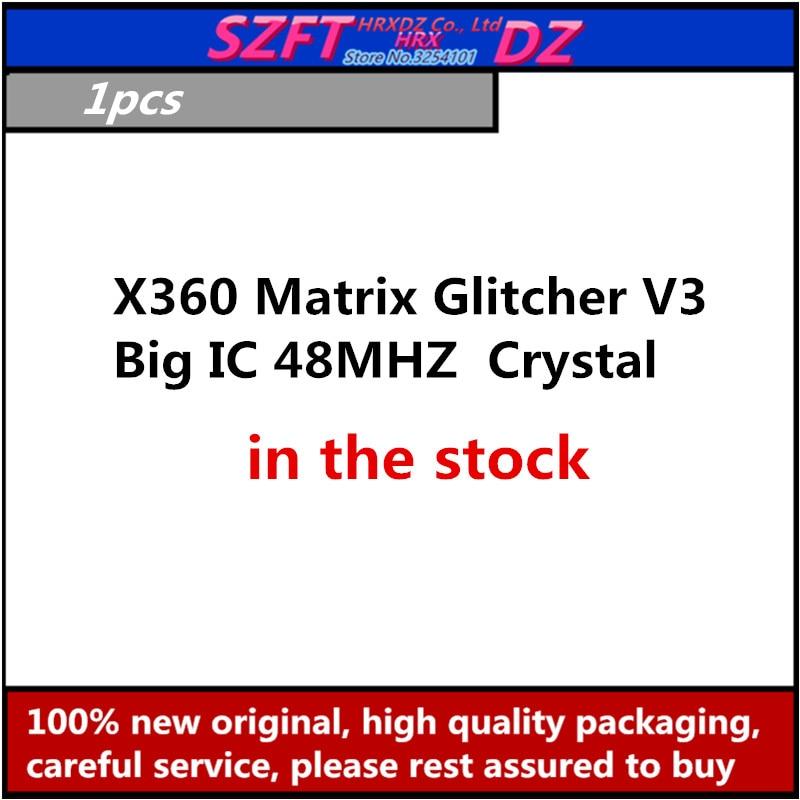 SZFTHRXDZ 1PCS  X360 Matrix Glitcher V3  Blue PCB Big IC 48MHZ Crystal oscillator(To view the physical image, please contact us)SZFTHRXDZ 1PCS  X360 Matrix Glitcher V3  Blue PCB Big IC 48MHZ Crystal oscillator(To view the physical image, please contact us)