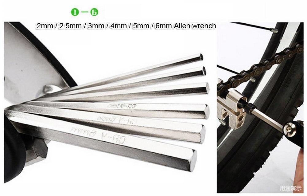 Multi Functional 15in1 Bike Repair Tool Set