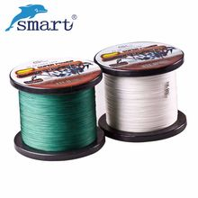 цена на Free Shipping 1000m PE Braided Fishing Line Super Strong 4 Stands Superpower tresse peche Multifilament Fishing lines Tackle