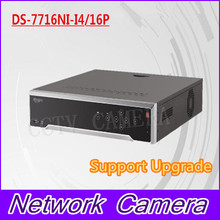 Free shipping DS-7716NI-I4/16P English version 16CH NVR with 4 SATA and 16 POE, HDMI up to 4K,ANR,alarm Recording at up to 12 MP