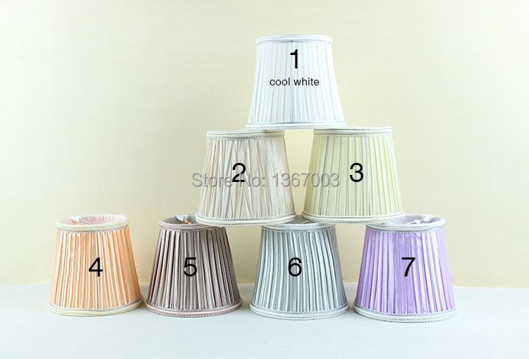 Mini Lampenschirme Für Kronleuchter ~ Moderne licht lampen mit stoff lampe shades kronleuchter mini