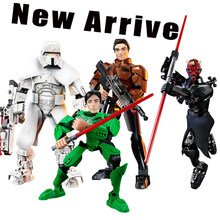 2018 New arrive Presale Star wars action figures plastic star wars figures RANGE TROOPER Solo luka DARTH MAUL movie toys(China)