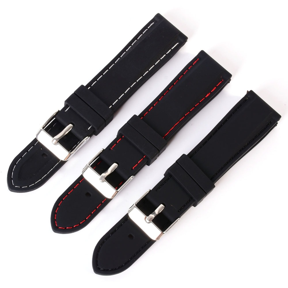 New 18-24mm Women Men Trendy Army Military Silicone Resin Strap Sports Canvas Wrist Watch Strap Band Mira La Banda  2018New 18-24mm Women Men Trendy Army Military Silicone Resin Strap Sports Canvas Wrist Watch Strap Band Mira La Banda  2018