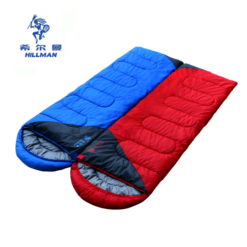 Hillman Sleeping bag autumn winter envelopes indoor lunch break splicing couple sleeping bag outdoor sleeping bag