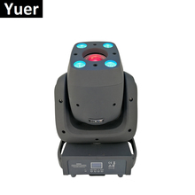 Moving Head LED Spot Wash Stage Light 120W Spot And 4X10W RGBW 4IN1 LED Moving Head Wash Light DMX Lighting Console Dj Lights