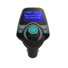 Автомобиль Bluetooth MP3 аудио плеер ЖК-дисплей двойной USB Зарядное устройство Bluetooth fm-передатчик беспроводной fm-модулятор автомобилей Bluetooth приемник
