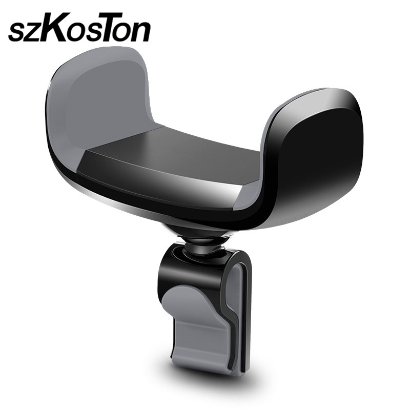 Car Phone Holder for iPhone 8 X 7 6S 5 5S SE 5C Air Vent Mount Holder Stand 360 Rotation Mobile Phone Stand For Samsung Huawei