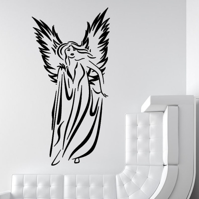 Modern Angel Wall Sticker