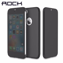 ROCK Dr.v Series Flip Case for iPhone7 /7 plus Slim Phone case with full screen protection without opening to answer call