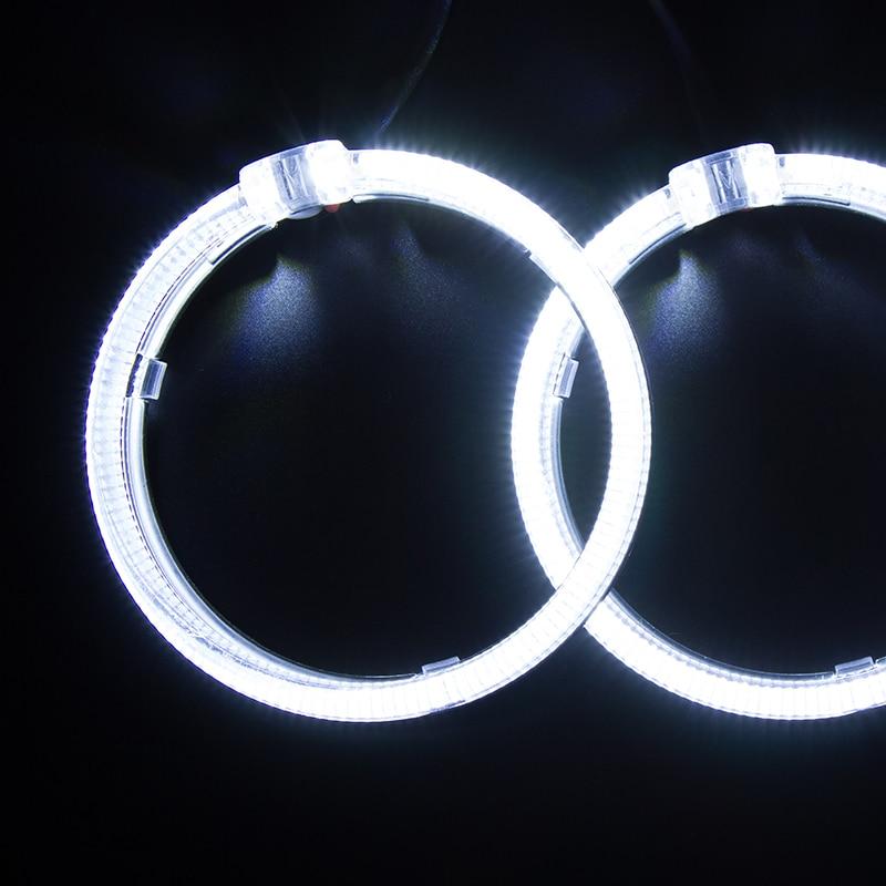 SANVI LED Angel Eye for BMW 0 7W LED Headlights Autoparts LED Headlamp Car styling Retrofit