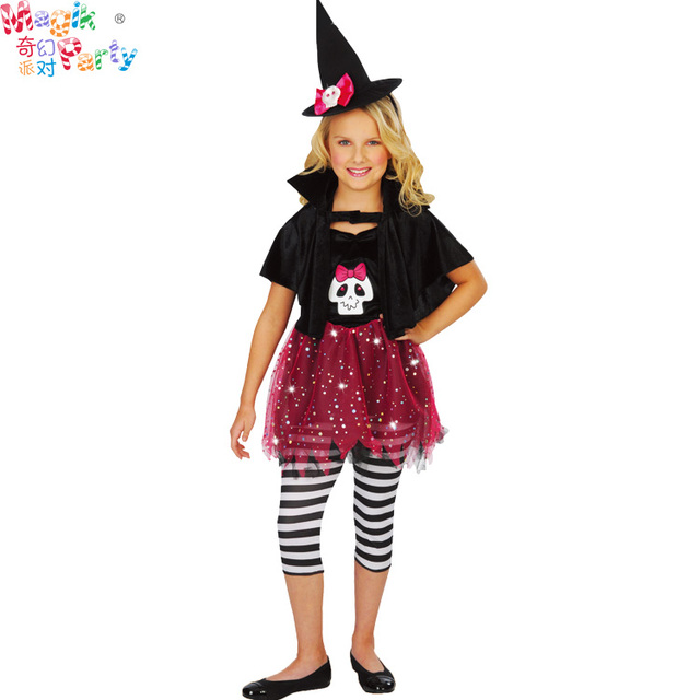 9b35e661a22f Magik Party-Halloween costumes-Girls' costumes for Carnival, Halloween,  Party, cosplay-Pink Sparkle Witch Girl