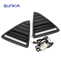 2pcs Car Styling Auto LED DRL Daylight Car Daytime Running Lights With Dimming Light Function For
