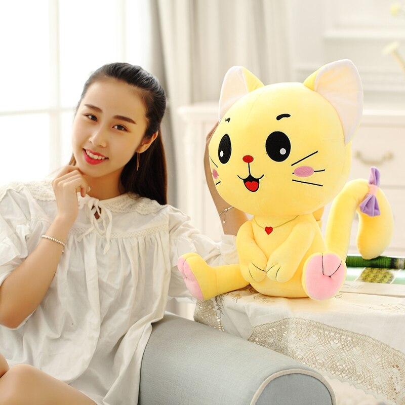 Emoji Pillow, Expression Cat, Plush - პლუშები სათამაშოები - ფოტო 6