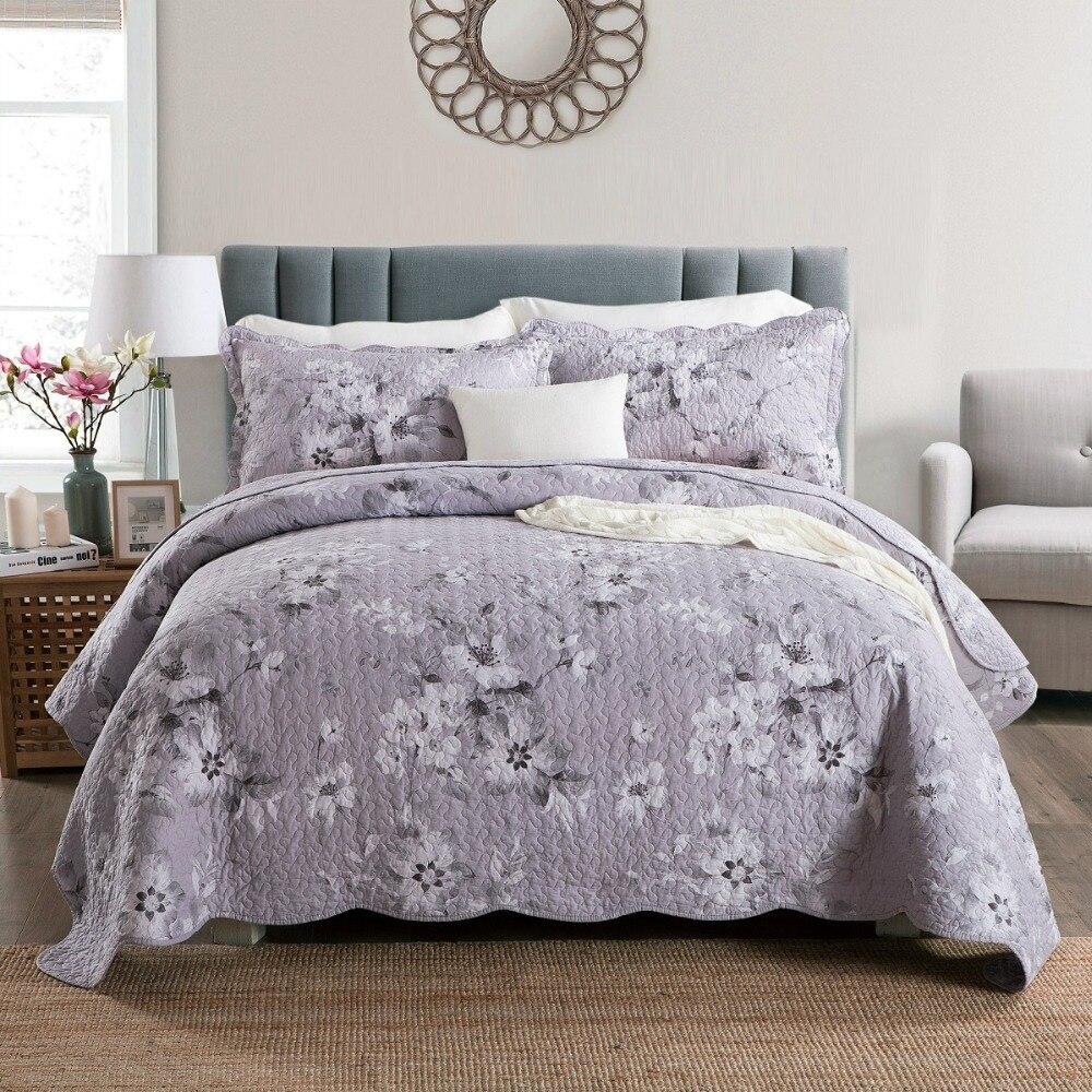 Chausub Quality Summer Quilt Set 3pcs 4pcs 100 Cotton