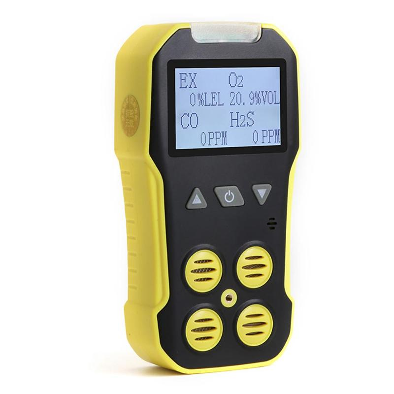 4 in 1 Gas Monitor CO/H2S/O2/EX Carbon Monoxide CO Gas Analyzer Detector4 in 1 Gas Monitor CO/H2S/O2/EX Carbon Monoxide CO Gas Analyzer Detector