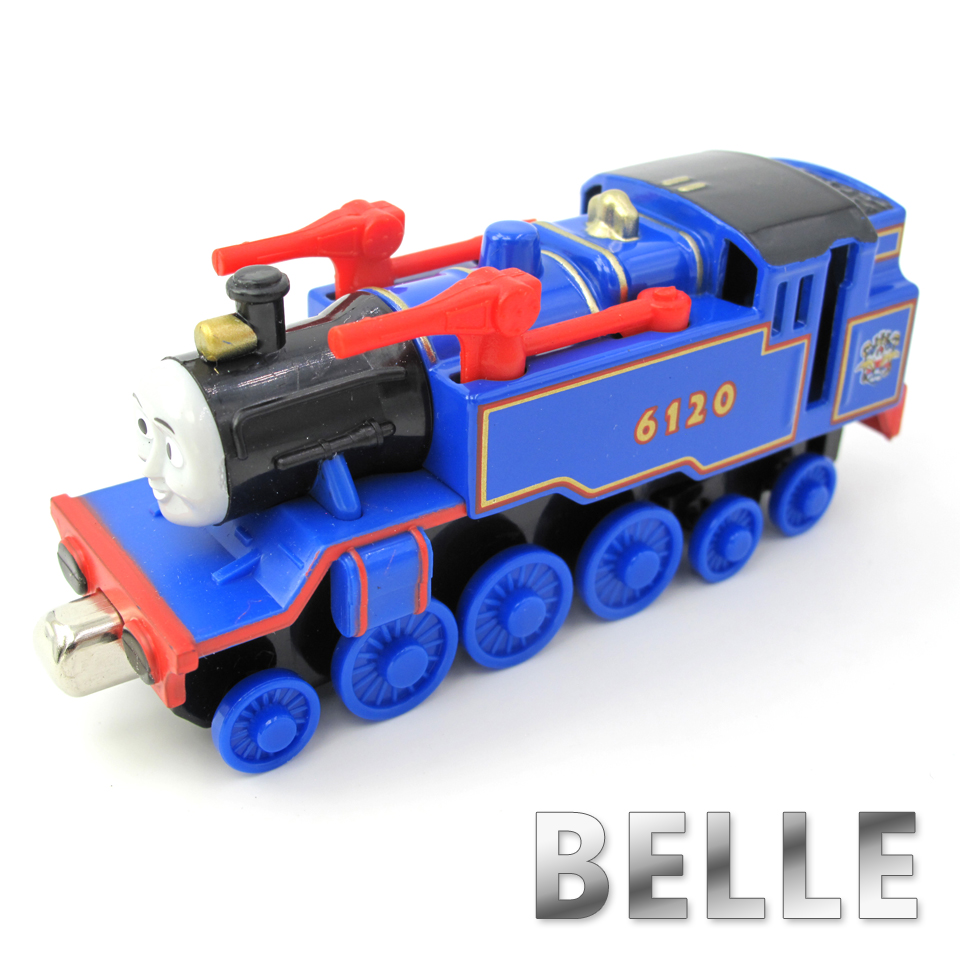 Diecasts Vehicles Thomas T008D BELLE Thomas And Friends Magnetic Tomas Truck Car Locomotive Engine Railway Train Toys for Boys