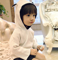 6PCS Wholesale 2015 New Autumn Winter Baby Girls&Boys Cute Hooded Sheep Sweater Kids Pullover 1-4 Y