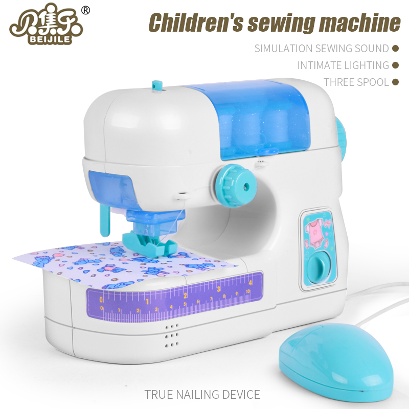 BEIJILE Furniture font b Toys b font pretend Role Play Game Sewing Machine font b Toy