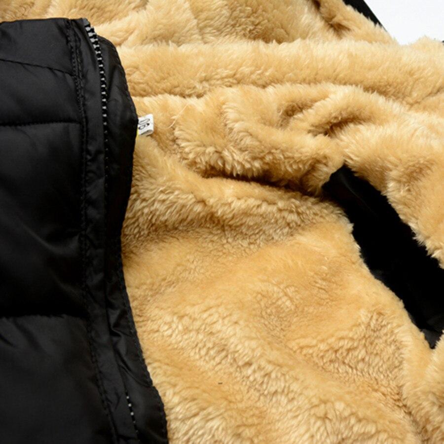 2018 куртка для мальчиков модные синие теплое пальто Дети Повседневное зимняя флисовая куртка с капюшоном Комплекты осенней одежды для мальч...
