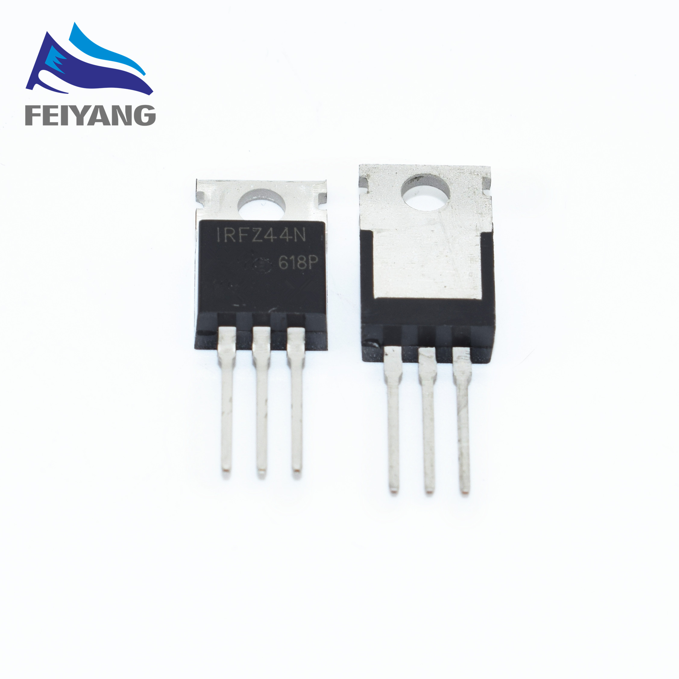 10pcs Irfz44n Irfz44 Irfz44npbf Mosfet Mosft 55v 41a 175mohm 42nc As Shown Below A P Channel Power Irf4905 Is Used And It 49a To 220
