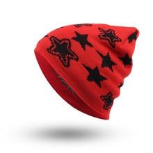Shocking Show Men Women Baggy Warm Winter Wool Knit Ski Beanie Skull Slouchy Caps Hat