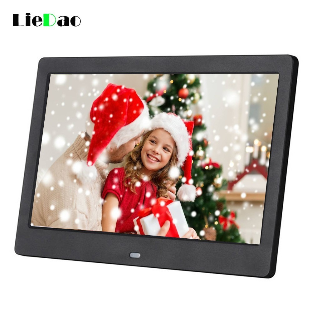 New 10 inch Screen Digital Photo Frame HD 1024 x 600 Electronic Album Outside Recharging Battery Picture Music Video Good GiftNew 10 inch Screen Digital Photo Frame HD 1024 x 600 Electronic Album Outside Recharging Battery Picture Music Video Good Gift