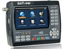 Original Satlink WS-6951 DVB-S/S2 HD Localizador Por Satélite com MPEG-2/MPEG-4 compatível e backlight Satlink 6951 Metro