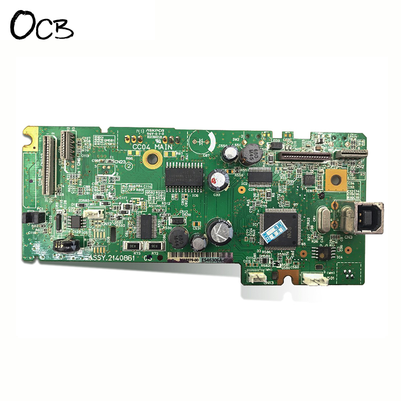 Original Mainboard Main Board For Epson L110 L111 L300 L301 L303 Printer Formatter Board formatter main board mainboard for epson tm t88v label printer